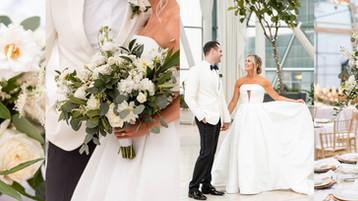 Indianapolis Artsgarden Wedding   Conrad Indianapolis   Ally & Tim
