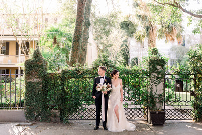 Downtown Charleston Elopement | Destination Wedding Photographer