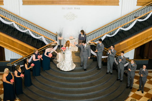 Indiana History Center wedding picture