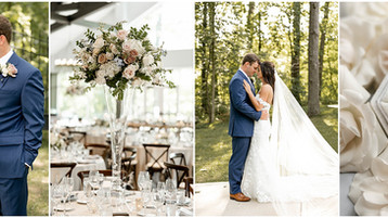 The Bluffs at Conner Prairie Wedding | Lauren & Eric | Carmel Indiana Wedding Photography