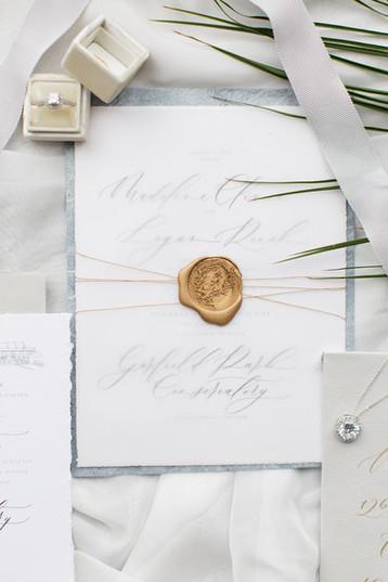 Tropical Conservatory Wedding Inspiration  | Carmel, Indiana Wedding Photographer