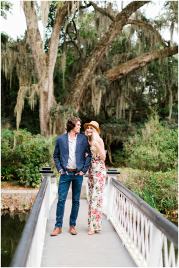 Magnolia Plantation Engagement Session | Charleston Wedding Photographer | Shelby & Austin