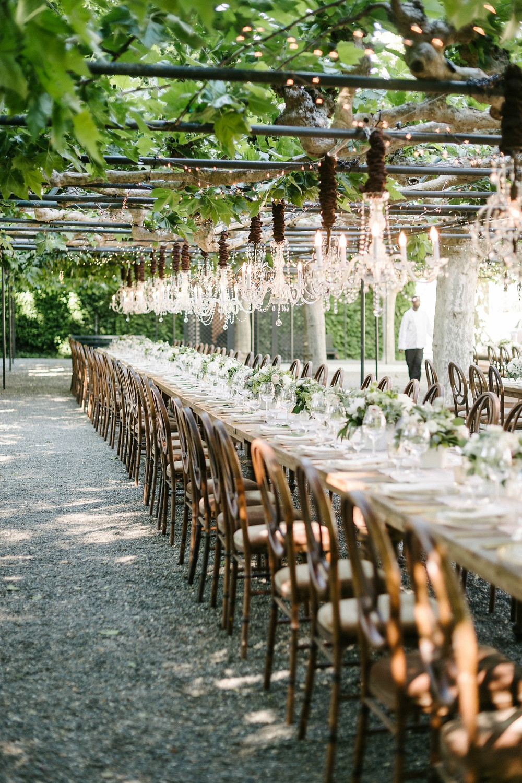Romantic reception venue
