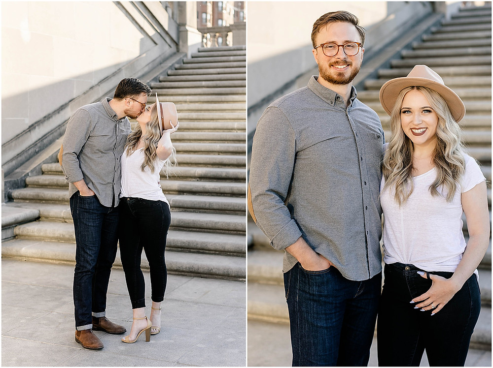 Downtown-Indy-Engagement-Photographers