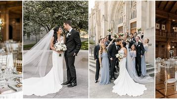 Scottish Rite Cathedral Indianapolis | Josie & Andrew | Indianapolis Wedding Photography