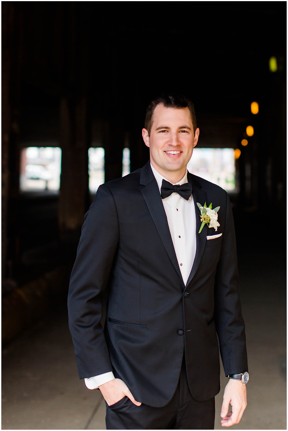 Groom-portrait
