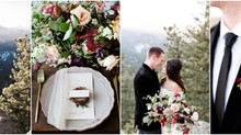 Romantic Mountain Wedding | Boulder Colorado Wedding | Brittany & Jordan
