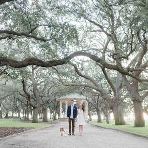 Big City Meets Southern Charm | Charleston SC Engagement Session