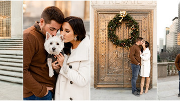 Indianapolis Winter Engagement Session