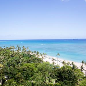 Romantic Hawaiian Vow Renewal| Hilton Hawaiian Village