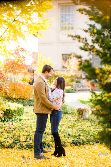 Indianapolis Engagement Session | Hailey & Adam