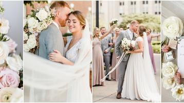 Downtown Indianapolis Wedding | Vanessa & Zach