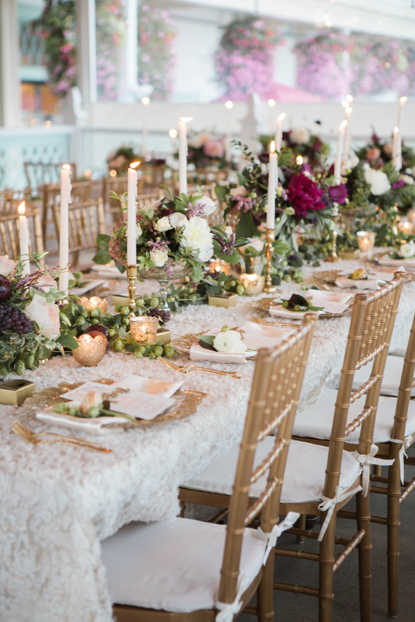 Mackinac Island wedding reception