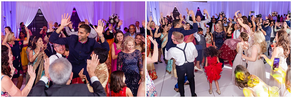 Hindu-Wedding-Dancing