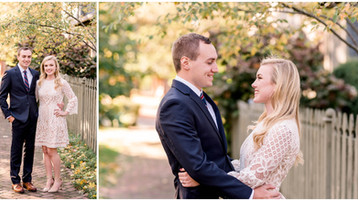 Indianapolis Fall Engagement Session | Pamela & Alex