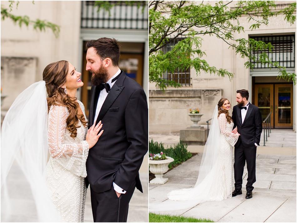 Indianapolis-public-library-bride-and-groom