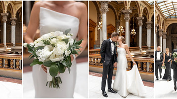 Regions Tower Wedding | Downtown Indianapolis Wedding | Jenna & Will