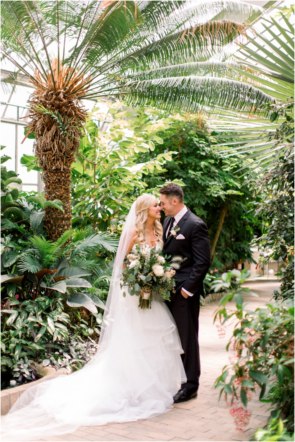 Greenery-filled-wedding