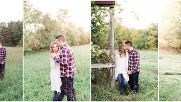 Romantic Engagement Session | Whitney & Lucas | Indianapolis Engagement Photographer