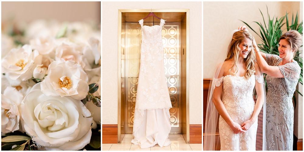 Bride-getting-ready-conrad-hotel-indianapolis