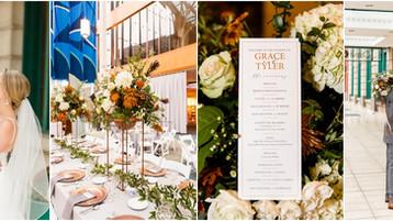 Indianapolis Public Library Wedding | Grace & Tyler