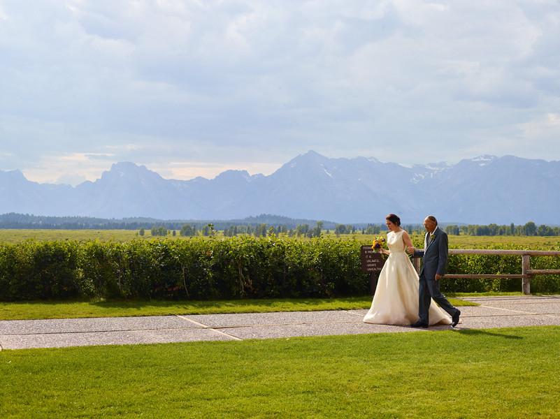 Teton Wedding