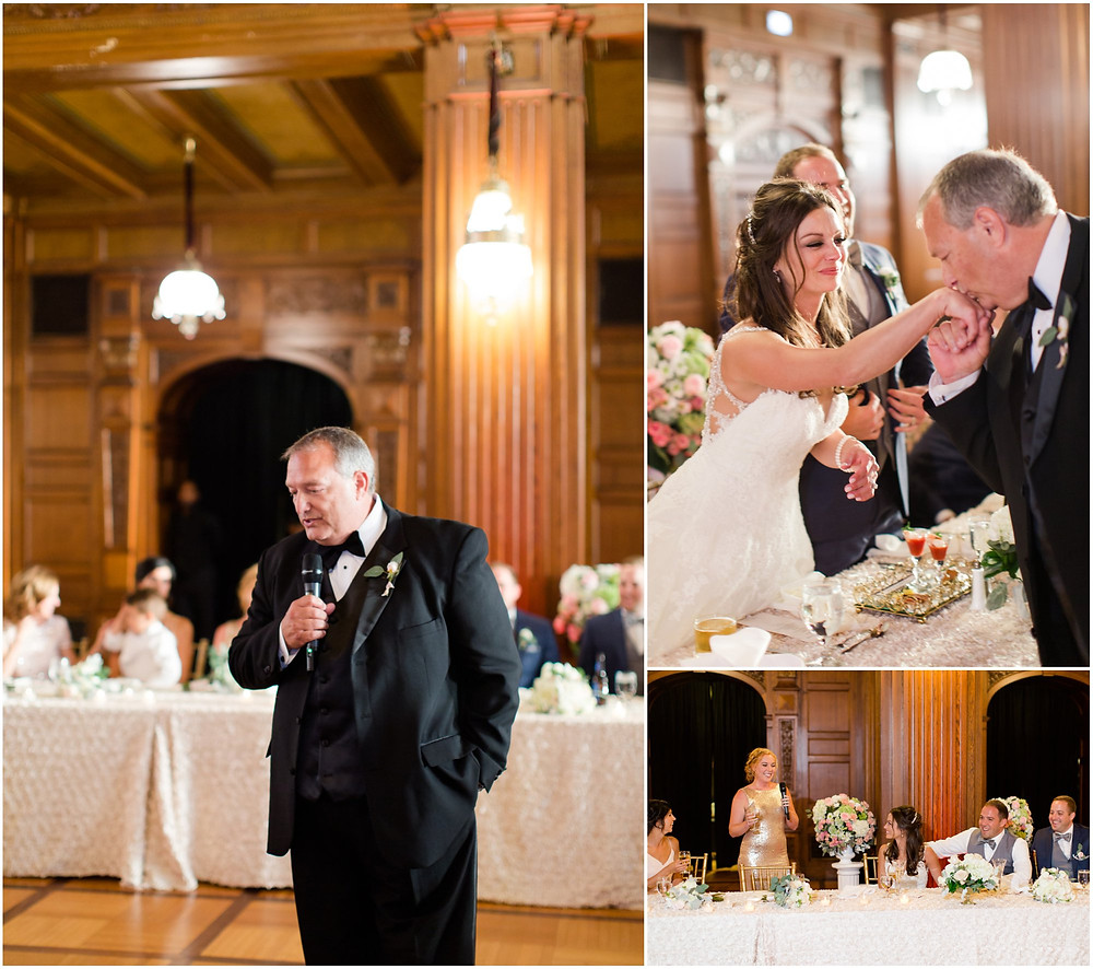 Indianapolis wedding reception