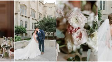 Scottish Rite Cathedral Wedding   Jessie & Andrew   Indianapolis Wedding Photography
