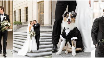 Scottish Rite Cathedral Wedding | Indianapolis Wedding Photographer |  Matthew & Emily