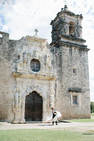 Historic Missions   San Antonio Wedding