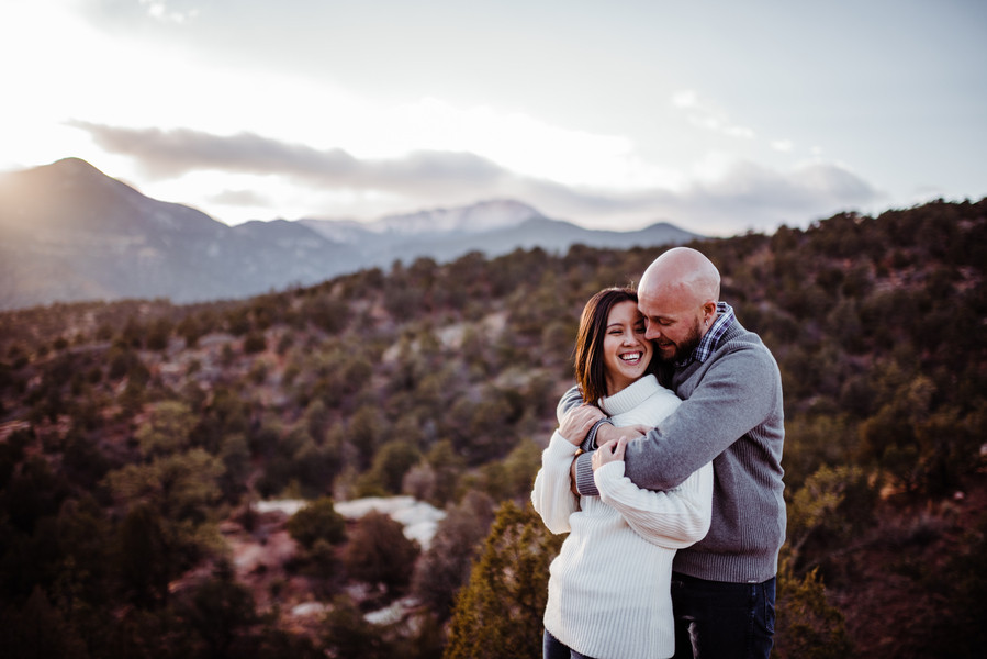 Colorado Springs, engagement session