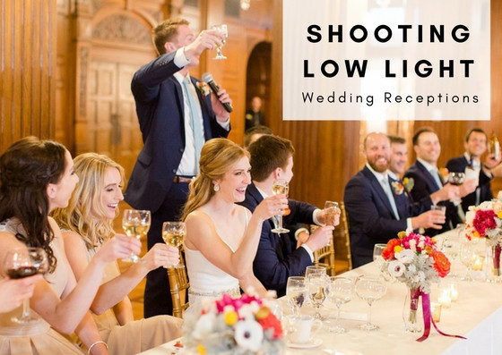 Learn to shoot in low light receptions