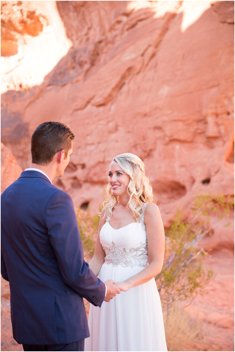 The valley of fire elopement