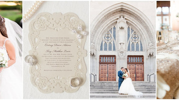Scottish Rite Cathedral Wedding | Cortney & Tony | Downtown Indianapolis