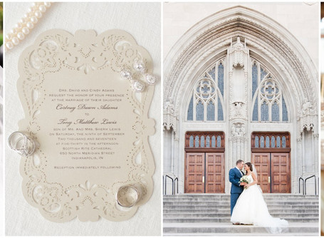 Scottish Rite Cathedral Wedding | Cortney & Tony | Downtown Indianapolis
