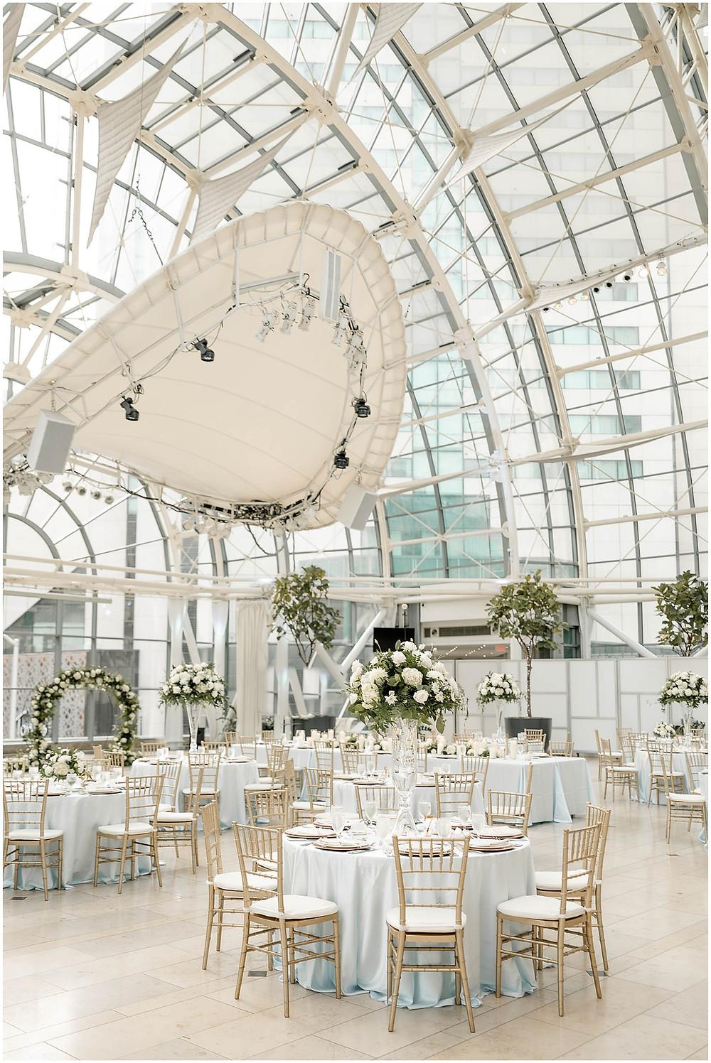 Indianapolis-Artsgarden-wedding-reception