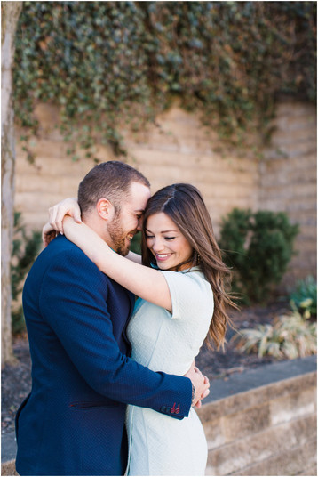 Downtown Indianapolis Engagement Session | Courtney & Tony