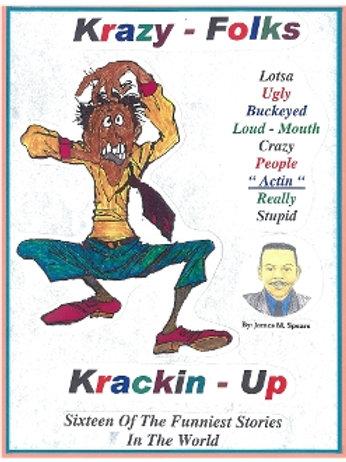 Krazy Folks Krackin Up Book