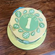 Safari Themed Birthday Cake