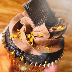 Vegan Chocolate Orange Cupcake