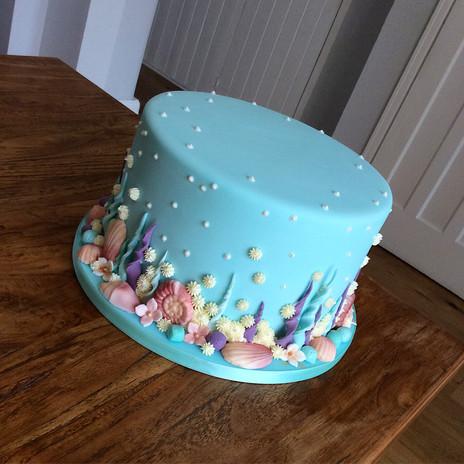 Underwater Themed Cake