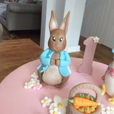 Beatrix Potter Themed Birthday Cake