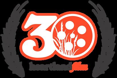 Heartland Film Festival 30th Anniversary logo