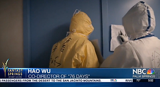 """Newscast about the film """"76 Days"""""""
