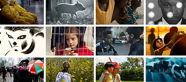 Stills from HIFF films