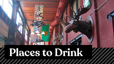 Places to Drink
