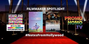 Filmmaker Spotlight program graphic