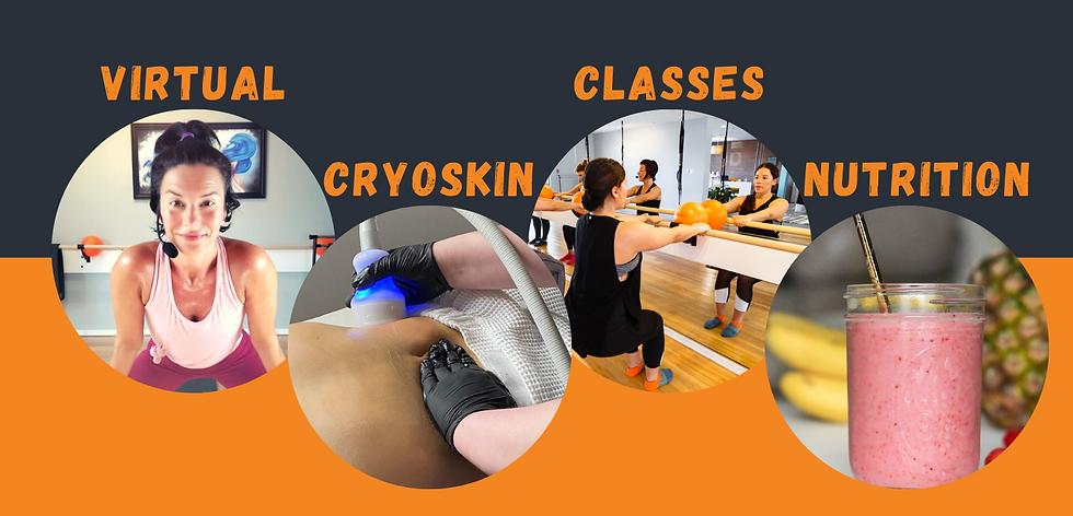 classes virtual nutrition cryoskin