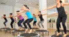 Trampoline Fitness class Syracuse, NY