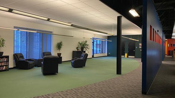 Underutilized Floor Area in Rear of Building
